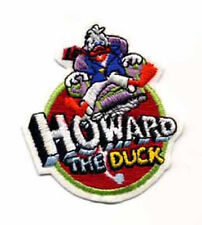 """Howard the Duck Movie  Logo 3"""" Vintage  Embroidered Patch- FREE S&H (MCPA-16)"""