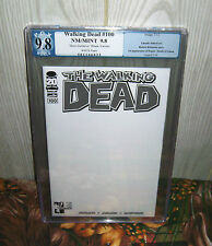 PGX 9.8 The Walking Dead #100 Hero Initiative BLANK VARIANT NM/MT 1st Negan