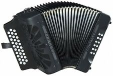 NEW Hohner COAB Compadre Button Accordion Black ADG A D G La 31 Button MM
