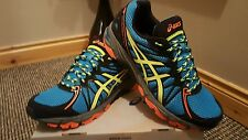 Asics gel fuji trabuco 3 neutral trail trainers uk 8