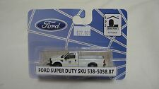 River Point Station HO 1/87 scale F350 XL Hi-Rail Pickup Truck Union Pacific