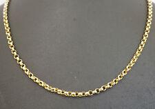 """Antique 9Carat Rose Gold 16"""" Round Belcher Link Necklace (2mm wide)"""