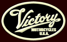 "VICTORY MOTORCYCLES EMBROIDERED PATCH ~3-7/8"" x 2-3/8"" JACKPOT POLARIS V2 HAMMER"