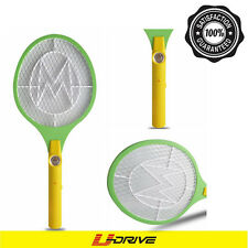 Electric Mosquito Fly Swatter Pest Bug Wasp Zapper Racket DC Power AA Batteries