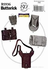 Butterick Pattern B5936 Making History Costume Gauntlet Pouch Water holder 5936