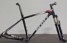 "Large 19"" Scott Scale 930 29er Carbon Frameset Rock Shox Reba RLT Ti Mountain"