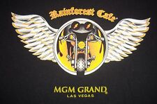 Rainforest Cafe MGM Grand Las Vegas Cha Cha Frog Motorcycle T-Shirt Kids S 6/7