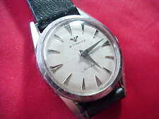 Clean Original 1970's Vintage Stainless Longines / Wittnauer Automatic Watch