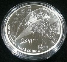 CANADA 2011 - 0.9999 Pure Silver Token Medallion - RCM - Employee - Very Rare