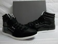 Kenneth Cole Reaction Size 9.5 M Glowing Black Leather Fashion New Mens Shoes