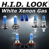 H7 H1 H11 501 55w White Xenon HID Look High Low Fog Beam Headlight Bulb Pack