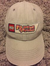Lego Alpha Team Baseball Youth Hat Cap Adjustable Tan/Grey Legoland Collection