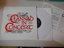 LP Folk Clannad - In Concert (8 Song) INTERCORD / OGHAM MUSIC