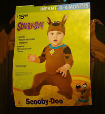 Scooby-Doo! Baby Costume Infant Size 0-6 Months ~ Romper & Hat