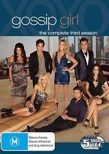 Gossip Girl : Season 3 (DVD, 2010, 5-Disc Set) COMPLETE THIRD SERIES -$2 POSTAGE