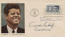 ENDICOTT PEABODY - FIRST DAY COVER SIGNED WITH CO-SIGNERS