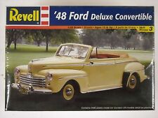 Revell Factory Sealed 48 Ford Deluxe Convertible 1:25 Model Kit #85-2163