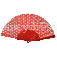 Spanish Flamenco Short Red Red White Fan Polka Dot Book World Dance Fancy Dress