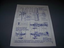 VINTAGE..STARDUSTER & PITTS SPECIAL SULU / CHANCE IV RACERS ..3-VIEWS..(383C)