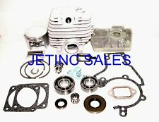CYLINDER & PISTON KIT FITS STIHL 038 038W 038S 038SW 038FB NIKASIL 50mm