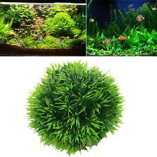 Plastic Artificial Aquatic Plants Aquarium Grass Ball Fish Tank Ornament Decor