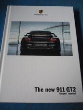 PORSCHE 911 gt2 OPUSCOLO 2008 il mio JM