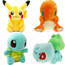 Pokemon Plush Toys Pikachu Squirtle Charmander Bulbasaur Action Toy 4Pcs/Set