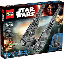 Lego 75104 Star Wars Kylo Ren's Command Shuttle (NEW)