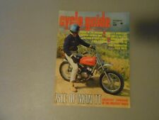 SEPTEMBER 1967 CYCLE GUIDE MAGAZINE,ISLE OF MAN TT,BULTACO BRAVO,SUZUKI AS-100,