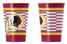 Washington Redskins Disposable Paper Cups - 20 Pack [NEW] NFL Party Tailgate