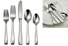 Oneida 45 Piece Linden Service for 8 Stainless Flatware