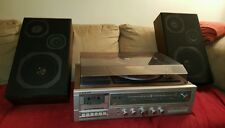 Emerson M3010 Stereo Receiver/8Track/Cassette/Record Player/Turntable/Speakers