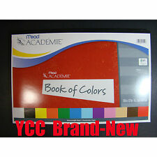 Mead Construction paper-Book of Color- 48s', 18 x 12in (45.7 x 30.4cm), 1 pk.