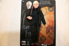 HARRY POTTER; DRACO MALFOY   8 INCH ACTION FIGURE  & WAND NEW IN  POLYBAG