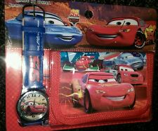 Cars Children's Watch Wallet Set For Kids Boys Girls Christmas Gift
