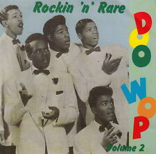 ROCKIN' 'n' RARE DOO WOP volume 2 CD early 1950s Rock & Roll doowop NEW