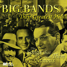 BIG BANDS THEIR GREATEST HITS NEW + SEALED CD Artie Shaw,Harry James,Joe Loss +