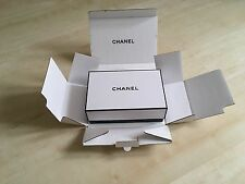 Chanel New Original Black and White Gift Box with extra bits