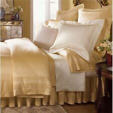 Sferra Capri Gold Queen Flat Sheet 100% Egyptian Cotton Sateen 1020TC Luxury NEW
