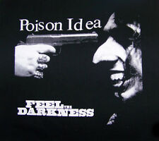 POISON IDEA feel the darkness Jerry A germs black flag portland punk BACK PATCH
