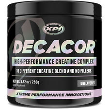 Decacor Creatine (50 Serv) - Premium 10 Creatine Complex -Intensify Your Workout
