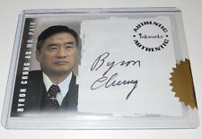 LOST Inkworks 2006 Autograph Trading Card A11 BYRON CHUNG as MR. PAIK