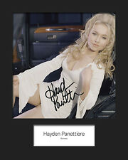 HAYDEN PANETTIERE #3 Signed Photo Print 10x8 Mounted Photo Print