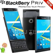 "BlackBerry Priv 32GB 4G LTE (Black) 5.4"" Quad HD Unlocked GSM Android STV100-1"