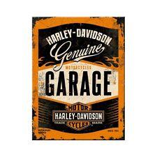 Harley Davidson Garage Kühlschrankmagnet Fridge Refrigerator Magnet 6 x 8 cm