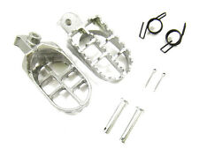SILVER FOOTPEG FOOT PEG YAMAHA PW50 PW80 TW200 BRAND NEW