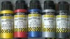AIRBRUSH READY METALLIC PAINT SET Vallejo Premium Color 60 ml  Pack of 6 bottles