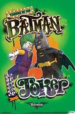 LEGO BATMAN - FACE OFF POSTER - 22x34 - JOKER 14887