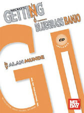 LEARN BLUEGRASS BANJO WITH MEL BAY GETTING INTO BLUEGRASS BANJO SONG BOOK & CD
