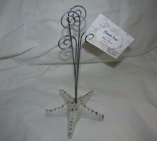 Starfish Wire Picture Holder Cards Recipe Photo Memo Holder Stand Tabletop Desk